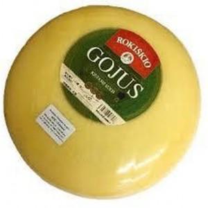 Sūris kietasis Gojus 40 %, galvomis ~ 5,0-5,5 kg