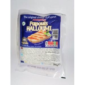 Sūris graikiškas halloumi PAPOUIS 46%, 200 g