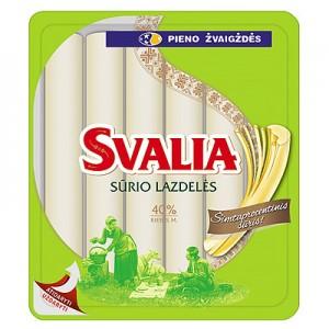Sūrio lazdelės SVALIA 40 % 260 g