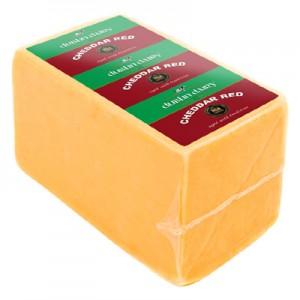 "Sūris CHEDDAR  ""Dublin dairy red""  Airija 50 % ( ~3kg), kg"