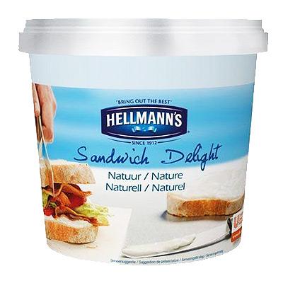 Sūris kreminis Hellmanns Sandwich 1,5 kg