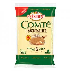 Sūris pusk. President Comte 45 % 220 g