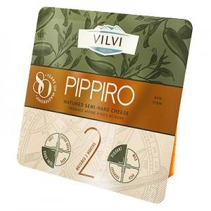 Sūris pusk. Pippiro su jalapeno pip. 45 % 180 g
