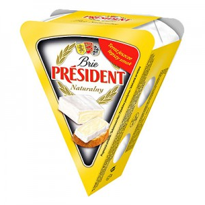 Sūris su baltu pelėsiu Bri President 125 g
