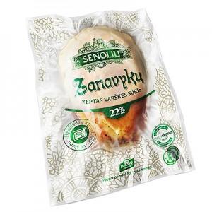 Sūris varškės ZANAVYKŲ  22 %, 1 kg