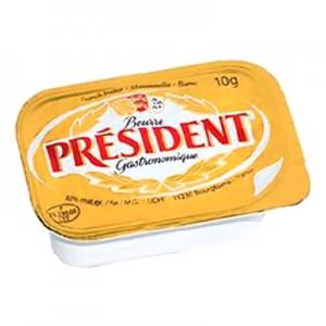 Sviestas President, 10 g (100 vnt)