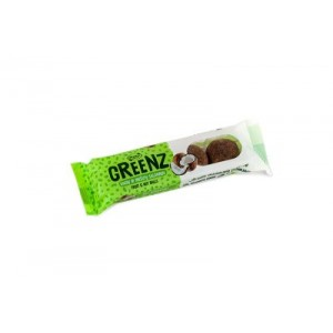 "Saldainiai  ""GREENZ"" su kokosu, 48 g, (12 vnt)"