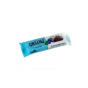 "Saldainiai  ""GREENZ"" su mėlynėmis, 48 g, (12 vnt)"