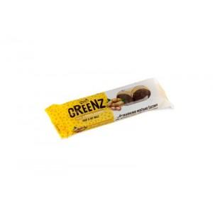 "Saldainiai  ""GREENZ"" su žemės riešutais, 48 g (12vnt)"