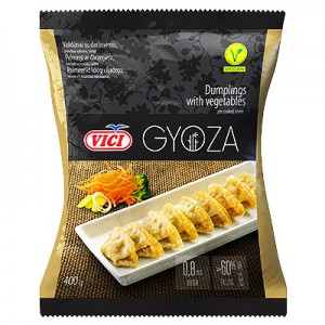 Koldūnai su daržovėmis šaldyti, GYOZA, 400 g