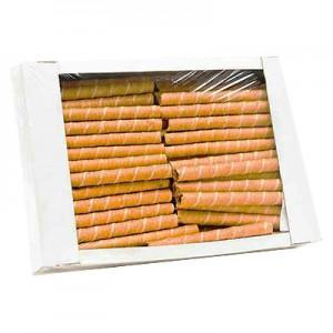 Vafliniai vamzdeliai dėžėmis, 1vnt
