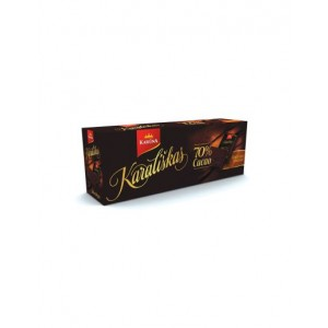 Šokoladas KARALIŠKAS, 70%, 24 vnt po 10 g