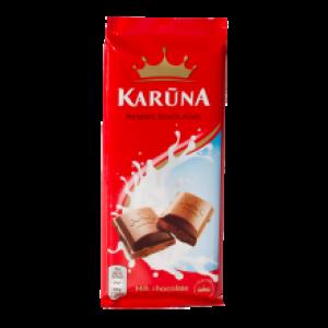Šokoladas pieninis  Karūna 90 g