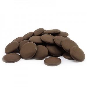 Juodo šokolado tabletės 53%, 1 kg