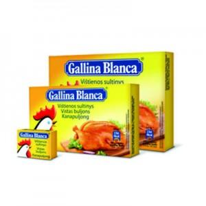Sultinys vištienos Galina Blanca (8 kub.), 80 g