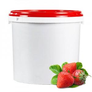 Braškių įdaras pyragams, vaisių kiekis 65 %, 6kg