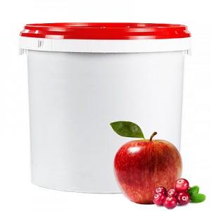 Obuolių-bruknių įdaras, vaisių kiekis 55 %, 6kg