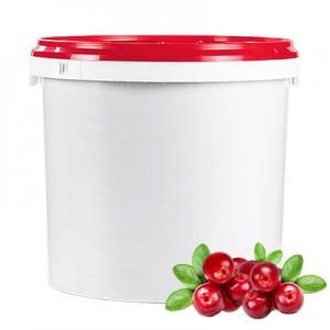 Termostabilus spanguolių įdaras, vaisių kiekis 35 %, 7kg