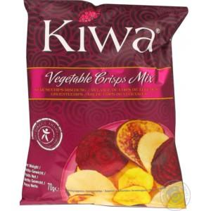 Traškučiai daržovių Kiwa, 70 g
