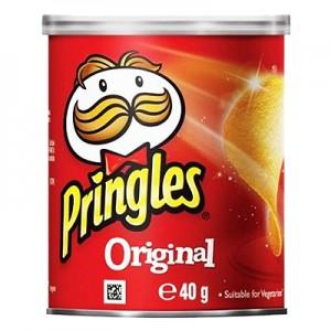 Traškučiai Pringles  Original, 40 g