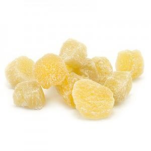 Ananasų kubeliai 8-10mm cukruoti,  1 kg