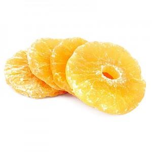 Ananasų skrituliukai cukruoti, 1 kg
