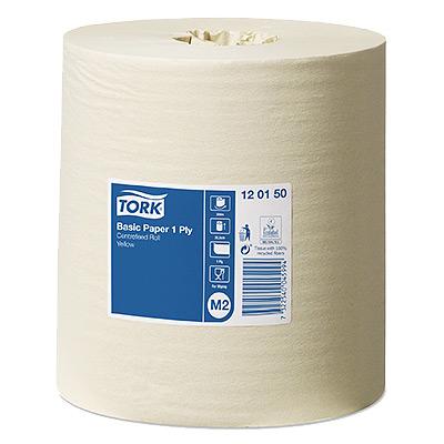 Popierius šluostymo TORK (gelsvos spalvos), 300 m