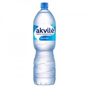 Mineralinis vanduo negazuotas AKVILĖ, 1,5 L