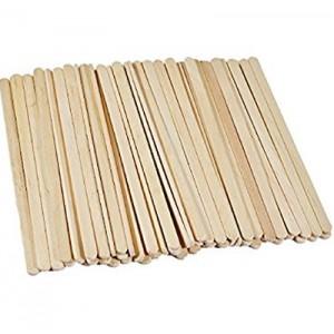 Ekologiški mediniai maišikliai 14 cm, 1000 vnt
