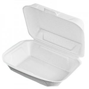 Dėžutė maistui  1 skyriaus 41,4x24x3,9 cm, 125 vnt