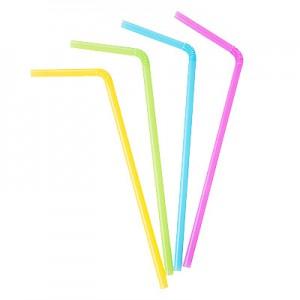 Šiaudeliai lankstomi (25cm, D8mm) 1000 vnt