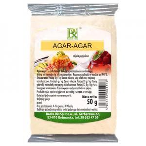 Želatinos pakaitalas Agaras 50 g