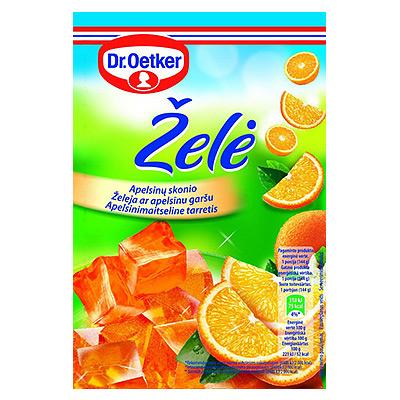 Želė apelsinų Dr. Oetker 77 g