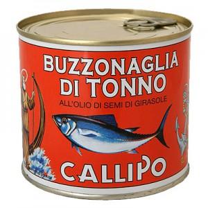 Tunas aliejuje Buzzonaglia,  620 g / 405 g