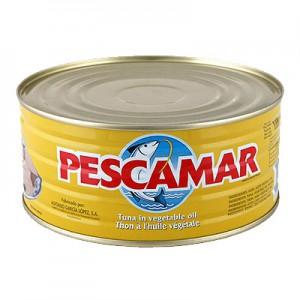 Tunas aliejuje PESCAMAR,  1000 g /650g