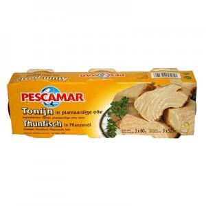 Tunas aliejuje Pescamar,   3 * 80 g